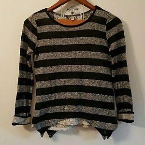Long sleeve sweater top